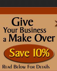Save 10% on your business makover